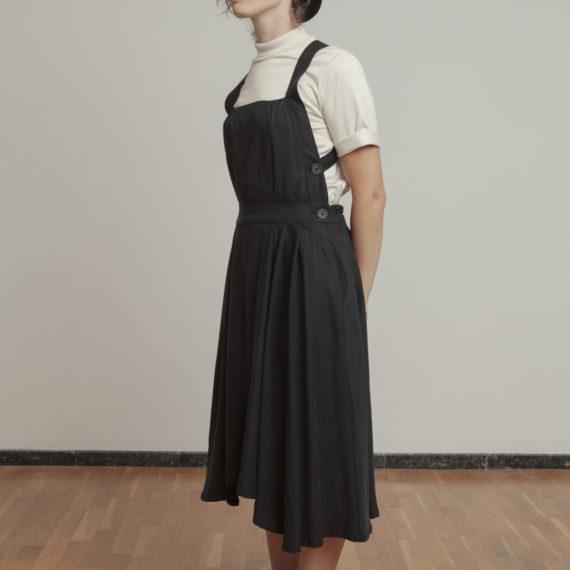 Vestido negro Tencel