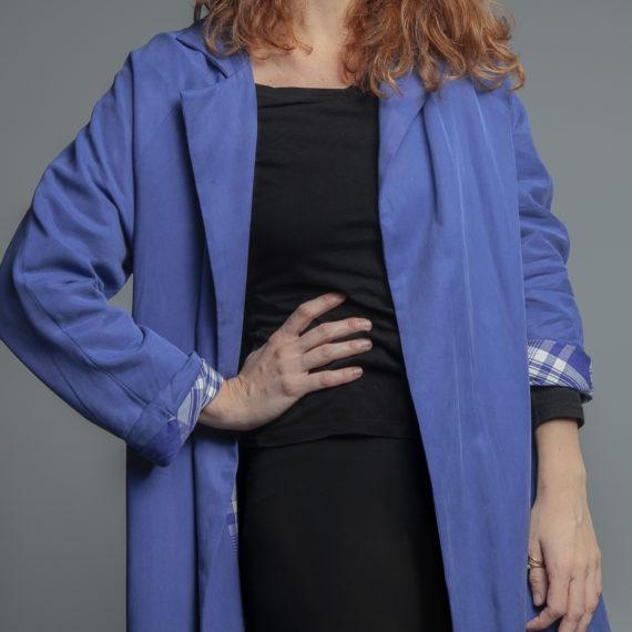 gabardina azul CURIE