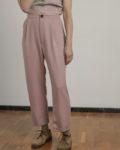 Pantalón CURIE rosa palo