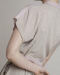 cropped top bicolor espalda