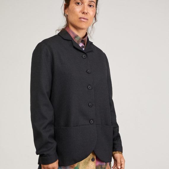 Americana Curie de lana